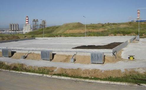 """Σύστημα on site επεξεργασίας """"Biopile"""" στην Θεσσαλονίκη (Βιοεξυγίανση εδαφών και αφυδατωμένης λάσπης από πετρελαιοειδή)"""
