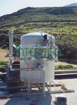 Σύστημα on site επεξεργασίας υγρών αποβλήτων ρυπασμένων από φυτοφάρμακα