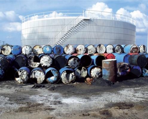 Ρύπανση από αποθήκευση και διακίνηση πετρελαιοειδών προϊόντων